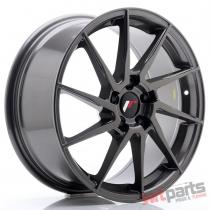 JR Wheels JR36 18x8 ET45 5x114,  3 Hyper Gray - JR3618805H4574HG