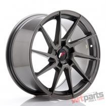 JR Wheels JR36 18x9 ET20-48 5H BLANK Hyper Gray - JR3618905X2074HG