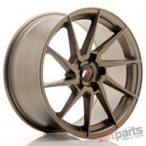 JR Wheels JR36 18x9 ET20-48 5H BLANK Matt Bronze - JR3618905X2074MBZ