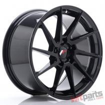 JR Wheels JR36 18x9 ET45 5x114.3 Glossy Black - JR3618905H4574GB