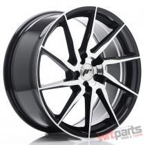 JR Wheels JR36 19x8,  5 ET20-50 5H BLANK Gloss Black Machined Face - JR3619855X2074GBM
