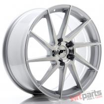 JR Wheels JR36 19x8,  5 ET45 5x112 Silver Brushed Face - JR3619855L4566SBF
