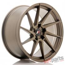 JR Wheels JR36 20x10 ET20-45 5H BLANK Matt Bronze - JR3620105X2074MBZ
