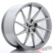 JR Wheels JR36 20x10 ET20-45 5H BLANK Silver Brushed Face JR3620105X2074SBF
