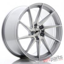 JR Wheels JR36 20x10 ET35 5x120 Silver Brushed Face - JR3620105I3572SBF