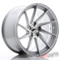 JR Wheels JR36 20x10,  5 ET10-35 5H BLANK Silver Brushed Face JR3620055X1074SBF
