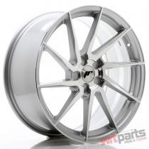 JR Wheels JR36 20x9 ET15-38 5H BLANK Silver Brushed Face JR3620905X1574SBF