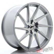 JR Wheels JR36 22x10,  5 ET15-55 5H BLANK Silver Brushed Face - JR3622055X1574SBF
