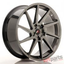 JR Wheels JR36 23x10 ET30-55 5H BLANK Hyper Black - JR3623105X3074HB