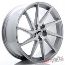 JR Wheels JR36 23x10 ET30-55 5H BLANK Silver Brushed Face JR3623105X3074SBF