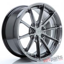 JR Wheels JR37 17x8 ET20-40 5H BLANK Hyper Black JR3717805X2072HB