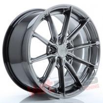 JR Wheels JR37 17x8 ET20-40 5H BLANK Silver Machined Face JR3717805X2072SM