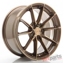 JR Wheels JR37 17x8 ET40 4x100 Platinum Bronze - JR3717804H4067BZP