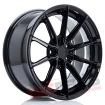 JR Wheels JR37 17x8 ET40 5x112 Glossy Black JR3717805L4066GB