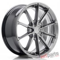 JR Wheels JR37 18x8 ET20-45 5H BLANK Hyper Black JR3718805X2072HB