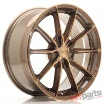 JR Wheels JR37 18x8 ET20-45 5H BLANK Platinum Bronze JR3718805X2072BZP