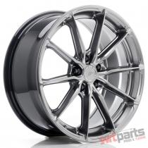 JR Wheels JR37 18x8 ET35 5x112 Hyper Black - JR3718805L3566HB