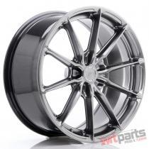 JR Wheels JR37 19x8,  5 ET20-45 5H BLANK Hyper Black JR3719855X2072HB