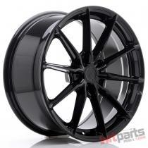 JR Wheels JR37 19x8,  5 ET35-45 5H BLANK Glossy Black - JR3719855X3572GB