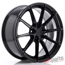 JR Wheels JR37 19x8,  5 ET45 5x112 Glossy Black - JR3719855L4566GB