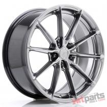 JR Wheels JR37 19x8,  5 ET45 5x112 Hyper Black - JR3719855L4566HB