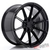 JR Wheels JR37 19x9,  5 ET35-45 5H BLANK Glossy Black - JR3719955X3572GB