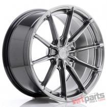 JR Wheels JR37 19x9,  5 ET35-45 5H BLANK Hyper Black JR3719955X3572HB