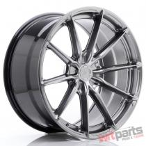 JR Wheels JR37 20x10 ET20-45 5H BLANK Hyper Black - JR3720105X2072HB