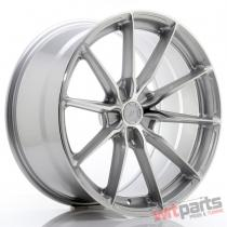 JR Wheels JR37 20x10 ET20-45 5H BLANK Silver Machined Face - JR3720105X2072SM