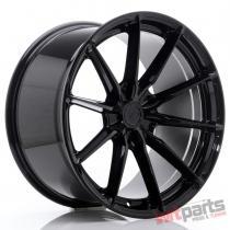 JR Wheels JR37 20x10,  5 ET20-40 5H BLANK Glossy Black - JR37201055X2072GB