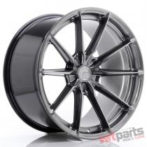 JR Wheels JR37 20x10,  5 ET20-40 5H BLANK Hyper Black - JR37201055X2072HB