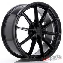 JR Wheels JR37 20x8,  5 ET20-45 5H BLANK Glossy Black - JR3720855X2072GB