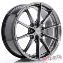JR Wheels JR37 20x8,  5 ET20-45 5H BLANK Hyper Black - JR3720855X2072HB