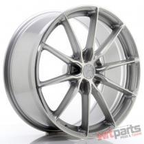 JR Wheels JR37 20x9 ET20-45 5H BLANK Silver Machined Face - JR3720905X2072SM