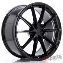 JR Wheels JR37 20x9 ET35-45 5H BLANK Glossy Black - JR3720905X3572GB