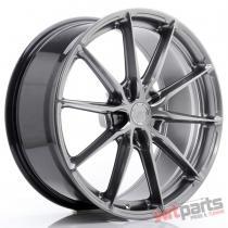 JR Wheels JR37 20x9 ET35-45 5H BLANK Hyper Black - JR3720905X3572HB