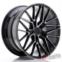 JR Wheels JR38 18x9 ET20-45 5H BLANK Black Brushed w/Tinted Face - JR3818905X2072GBBF