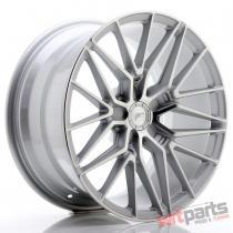 JR Wheels JR38 18x9 ET20-45 5H BLANK Silver Machined Face - JR3818905X2072SM
