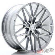 JR Wheels JR38 19x8,  5 ET35-45 5H BLANK Silver Machined Face - JR3819855X3572SM