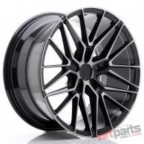 JR Wheels JR38 19x9,  5 ET20-45 5H BLANK Black Brushed w/Tinted Face - JR3819955X2072GBBF