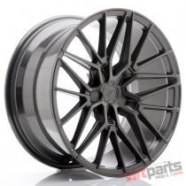 JR Wheels JR38 19x9,  5 ET20-45 5H BLANK Hyper Gray - JR3819955X2072HG