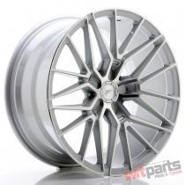 JR Wheels JR38 19x9,  5 ET20-45 5H BLANK Silver Machined Face - JR3819955X2072SM