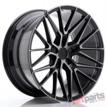 JR Wheels JR38 20x10 ET35-45 5H BLANK Black Brushed w/Tinted Face - JR3820105X3572GBBF