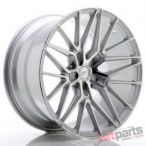 JR Wheels JR38 20x10,  5 ET20-45 5H BLANK Silver Machined Face - JR38201055X2072SM