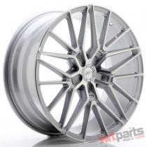JR Wheels JR38 20x8,  5 ET20-45 5H BLANK Silver Machined Face - JR3820855X2072SM