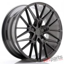JR Wheels JR38 20x8,  5 ET35-45 5H BLANK Hyper Gray - JR3820855X3572HG