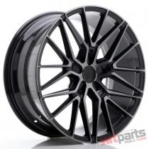 JR Wheels JR38 20x9 ET35 5x112 Black Brushed w/Tinted Face JR3820905L3566GBBF