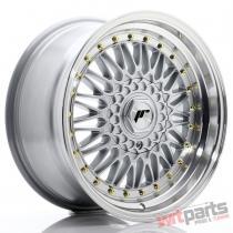 JR Wheels JR9 17x8,  5 ET35 4x100/108 Silver w/Machined Lip JR9178143574S