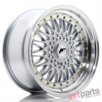 JR Wheels JR9 17x8,  5 ET35 5x112/120 Silver w/Machined Lip JR9178593574S