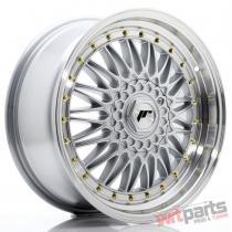 JR Wheels JR9 18x8 ET35 5x112/120 Silver w/Machined Lip JR91880MP3574S